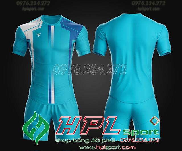 Áo ko logo TA THD màu xanh ngọc