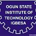 OGITECH 2nd Semester Examination Time-table – 2016/2017