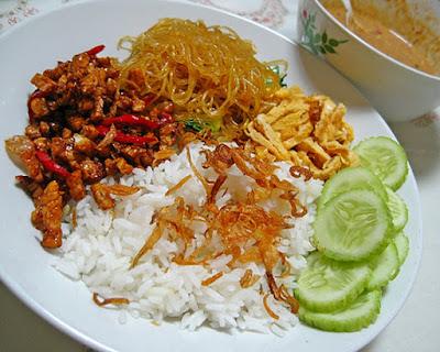 Resep-Nasi Gurih-Nasi-Udug