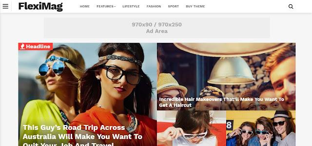 FlexiMag - Template Blog Responsive & Keren
