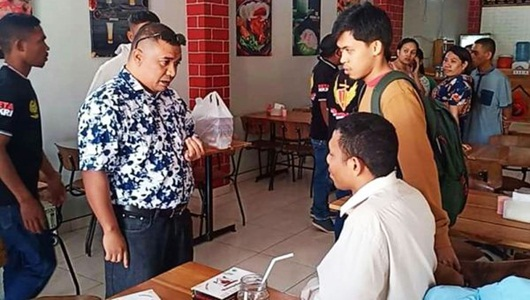 Laskar Timor Indonesia Bubarkan Ceramah Eks HTI di Kupang