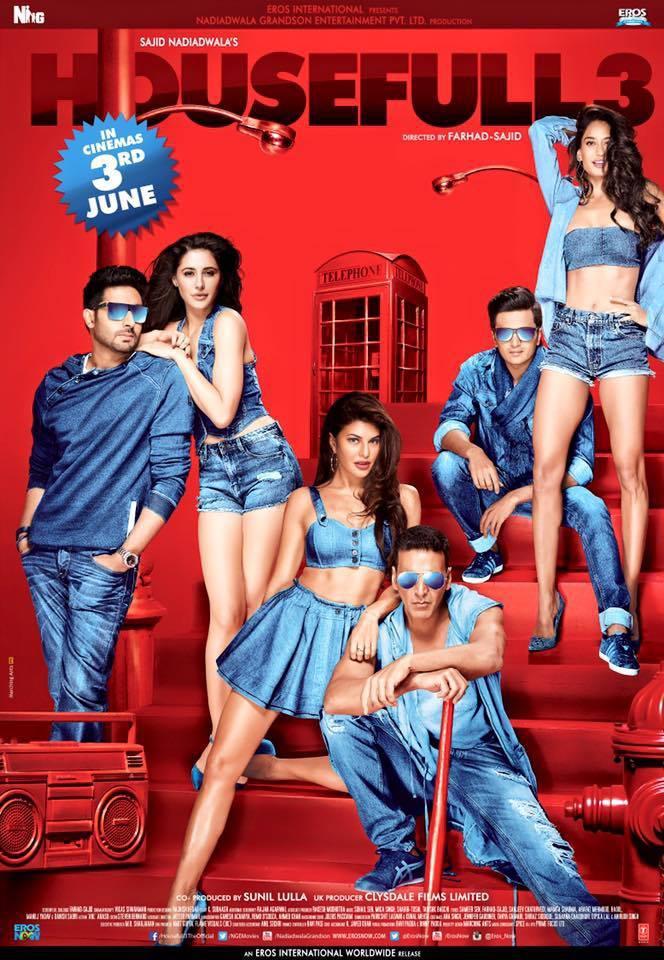 Watch Housefull 3 (2016) DVDRip Hindi Full Movie Watch Online Free Download