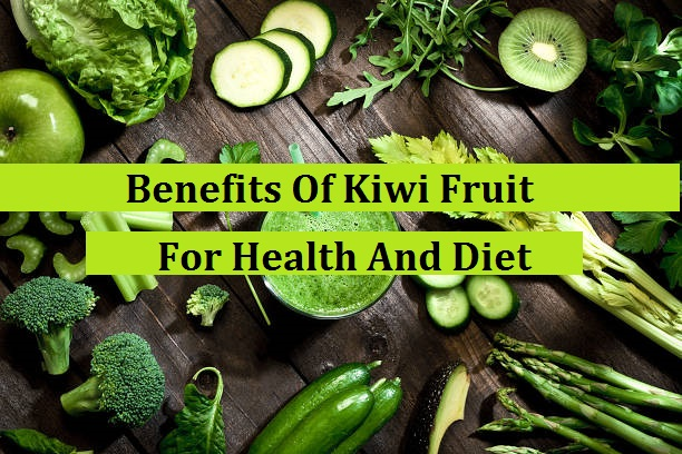 Health Benefits Of Kiwi Fruit For Health And Diet: Kiwi is one of the healthiest foods in this world. We agree that eating an apple a day will keep us healthy and we should eat more fruits when we are on a healthy diet menu. Fruits are as healthy as vegetable and some fruits are not only healthy, they have special effects on human's health. Calories in kiwi fruit are low, so this fruit is very suitable for your Healthy diet.