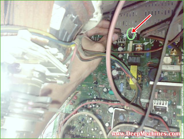 Remote Sensor Tdak Berfungsi TV SHARP 21-Inch (51X200)