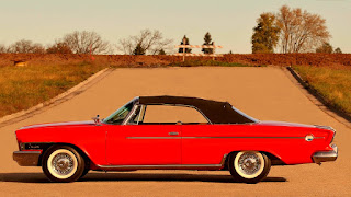 1962 Chrysler 300H Convertible Side Left