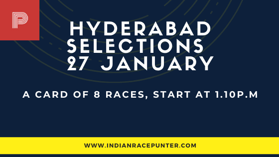 Hyderabad Race Selections 27 January