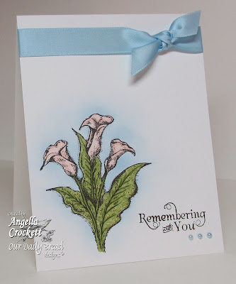"ODBD ""Loving Memories"" Card Designer Angie Crockett"