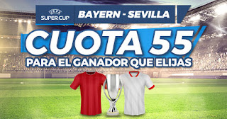 Paston Megacuota doble Bayern vs Sevilla 24-9-2020