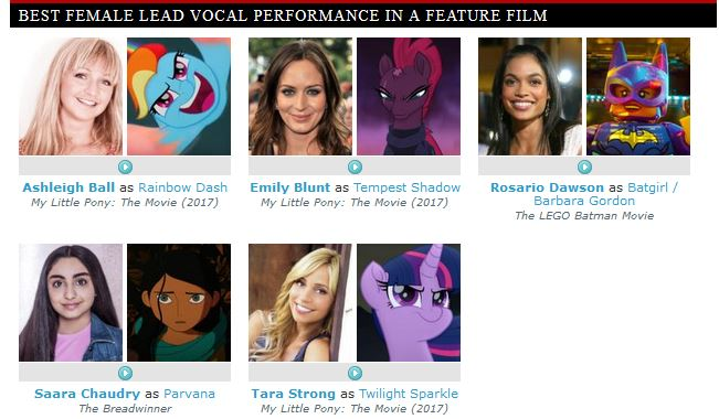 Equestria Daily Mlp Stuff Behind The Voice Actors 2018 Grabs A
