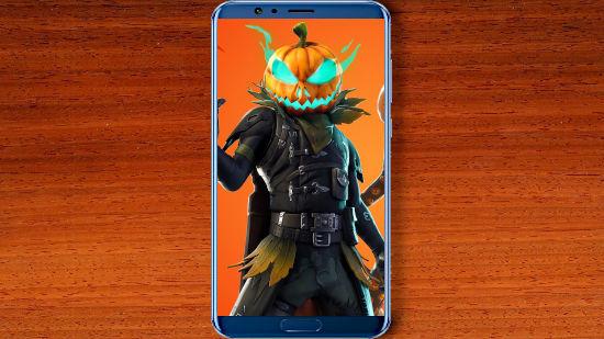 Fortnite Battle Royale - Crow Jack O'Lantern - FHD pour Mobile