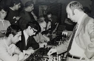 Arturo Pomar en Tortosa en 1972