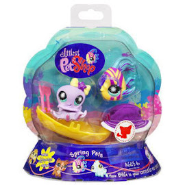 Littlest Pet Shop Globes Octopus (#862) Pet
