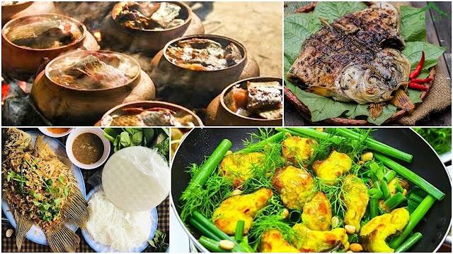 4 món đặc sản cá nổi tiếng ở Việt Nam