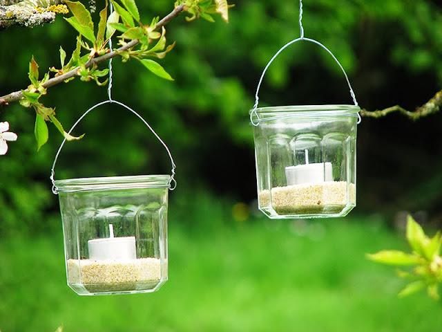 Comment faire des lanternes en pot de confiture fait maison