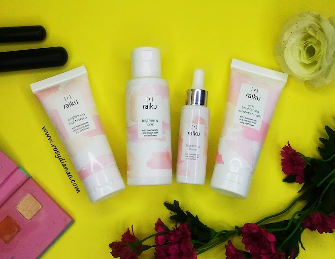REVIEW: Raiku Brightening Series