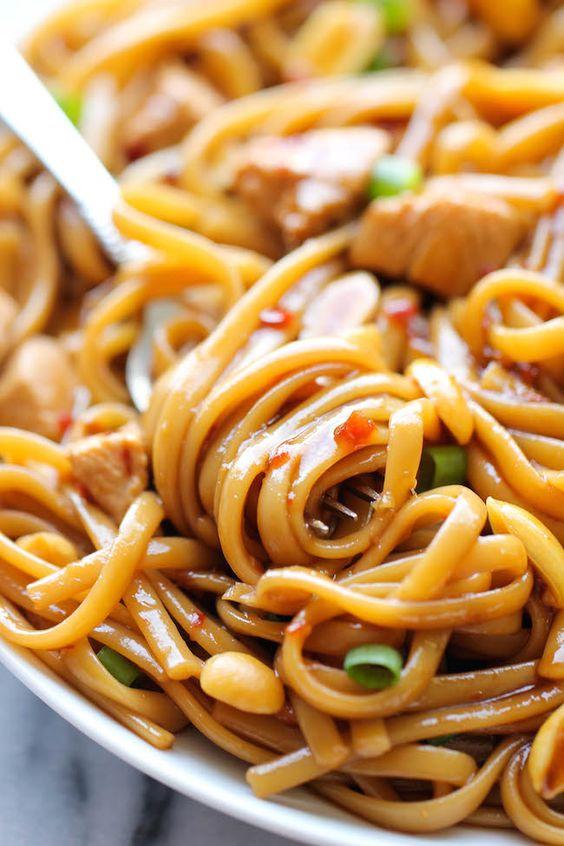CKP's Kung Pao Spaghetti