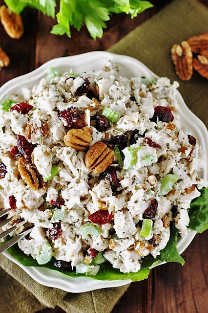 Cranberry Pecan Chicken Salad Image
