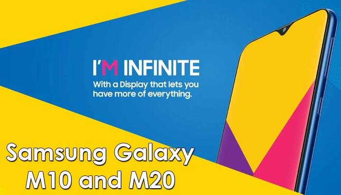 Harga Samsung Galaxy M10 dan M20