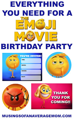 the emoji movie printables