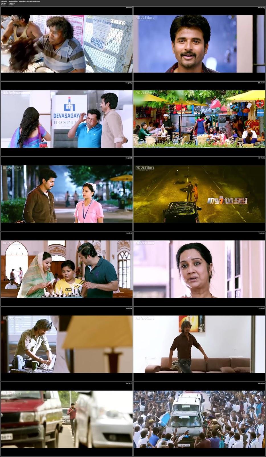 Kaaki Sattai 2018 Hindi Dubbed 300MB Movie HDRip 480p