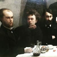 Henri Fantin-Latour : Un coin de table, détail (1872) Musée d'Orsay
