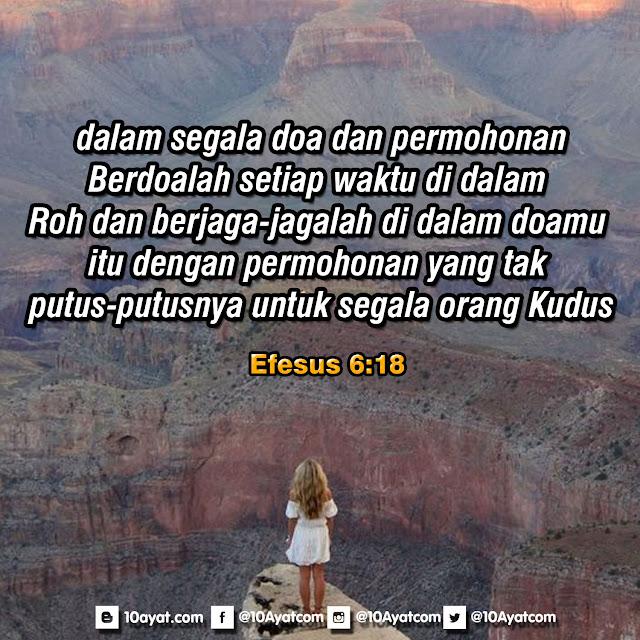 Efesus 6:18