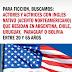 Se buscan ACTORES y ACTRICES con INGLÉS nativo que residan Argentina, Chile, Uruguay, Paraguay o Bolivia