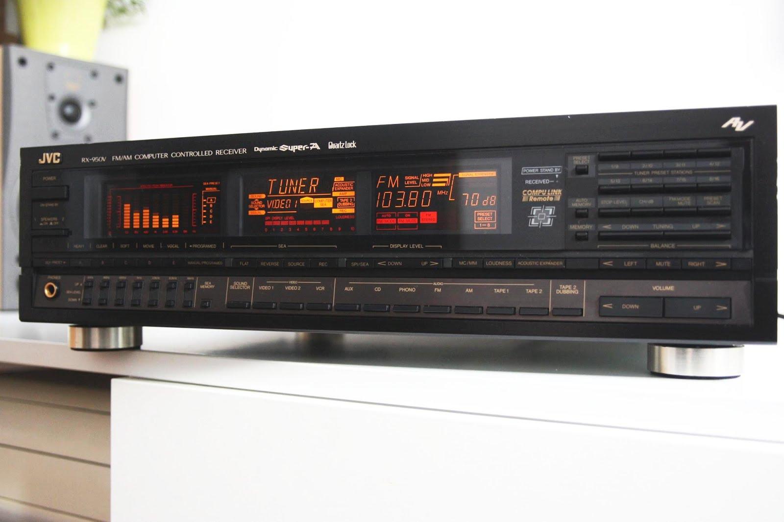 Jvc amplifier Manual Rx 884v