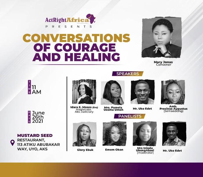 Actrightafrica | Conversation Of Courage & Healing