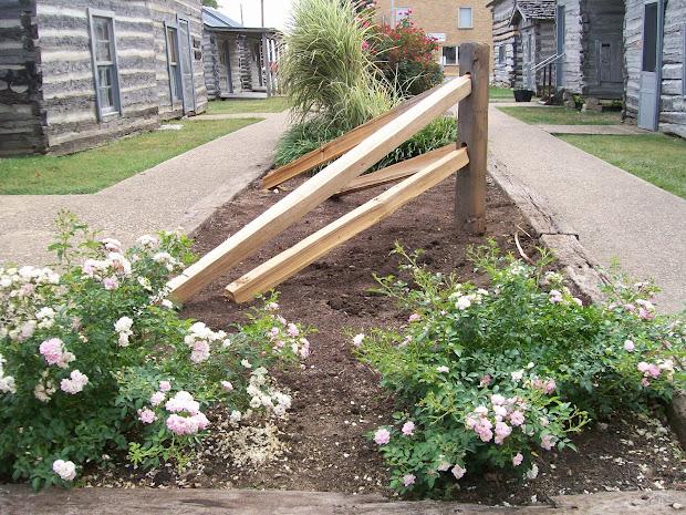 Modern Corner Fence Landscaping Ideas - Landscape