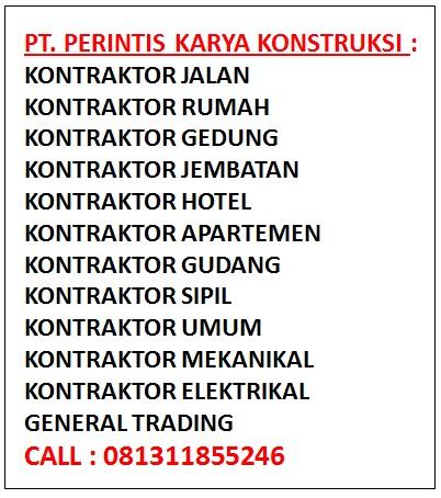 Daftar Jasa Kontraktor Indonesia
