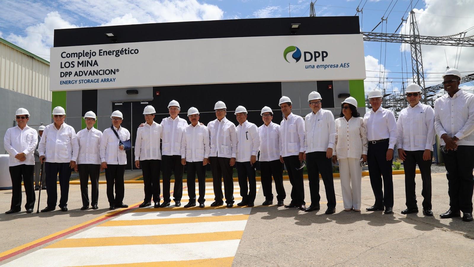 Unidad Los Mina VII: 114 megavatios de energía limpia. Danilo asiste a inauguración
