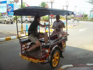 Sukhothai tuktuk
