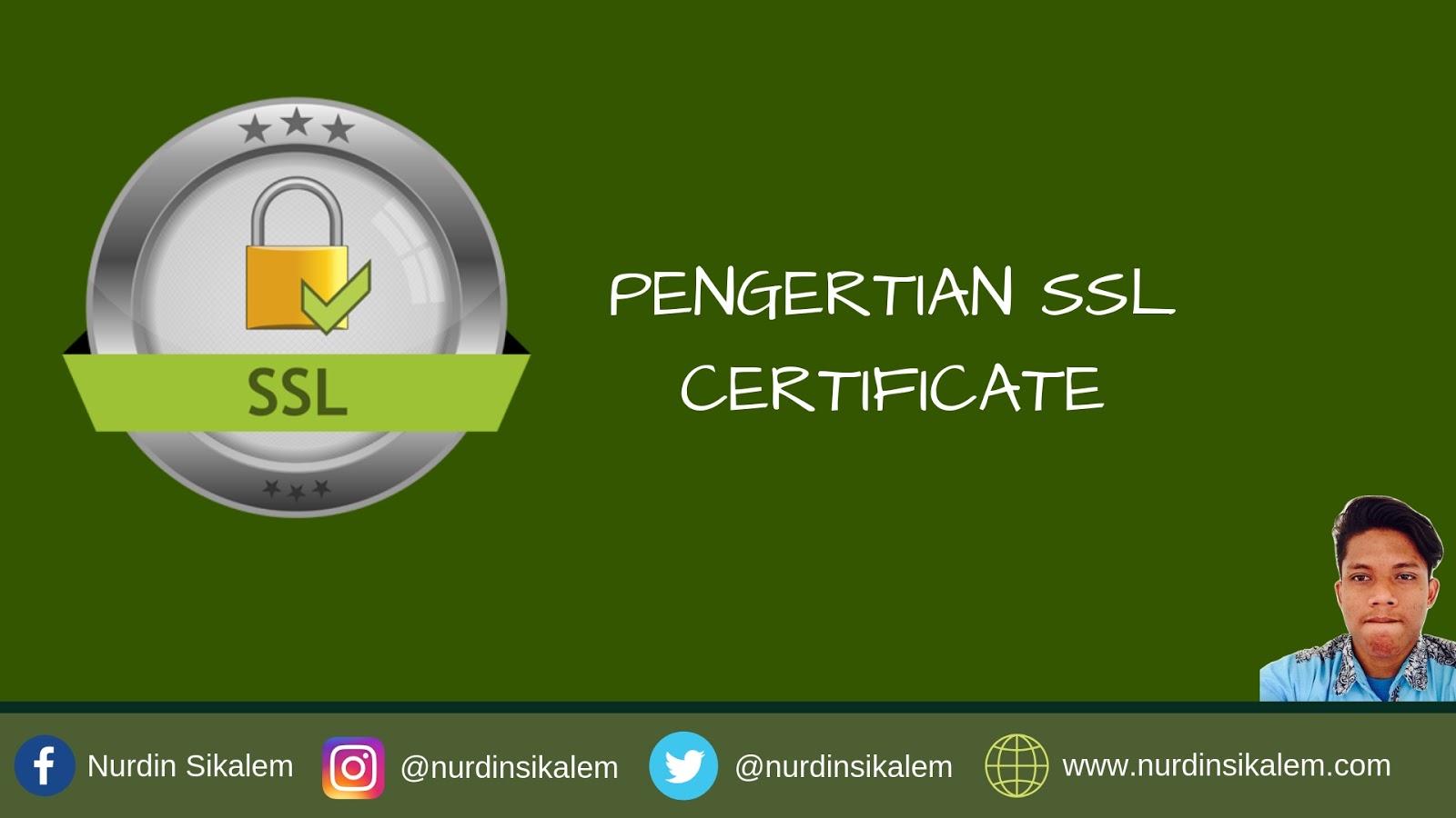 SSL Certificate terbaik