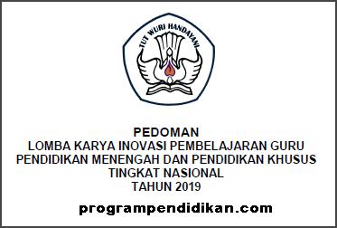 Pedoman Lomba Inobel SMA/SMK Tahun 2019