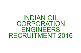 IOCL ENGINEERS RECRUITMENT GATE 2016