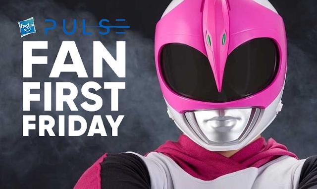 Hasbro revela novos produtos dedicados às Ranger Rosas de Power Rangers