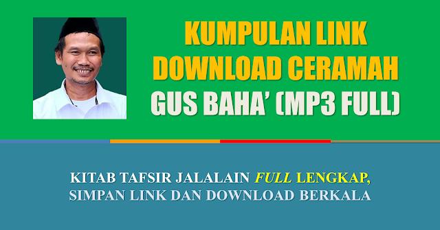 download pengajian gus baha mp3 tafsir lengkap