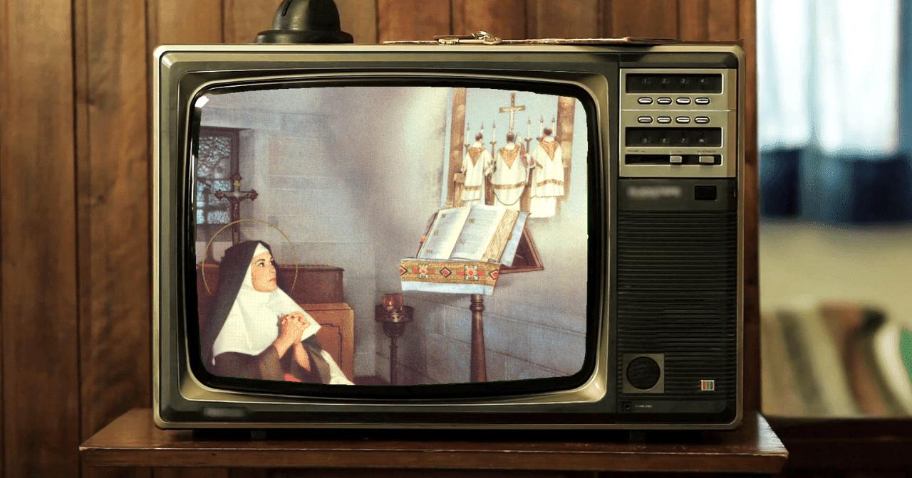 santa klara, televisi, santa pelindung