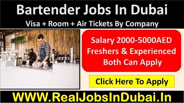 Bartender Jobs In Dubai, Abu Dhabi & Sharjah - UAE