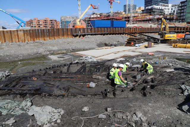 Six medieval ships unearthed in Norwegian capital