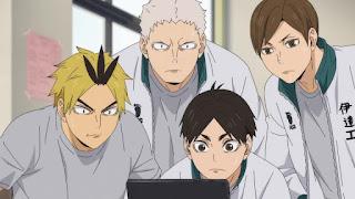 ハイキュー!! アニメ 第4期24話 伊達工業HAIKYU!! SEASON 4 Karasuno vs Inarizaki