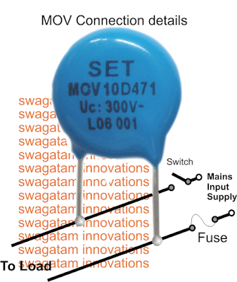MOV connections details