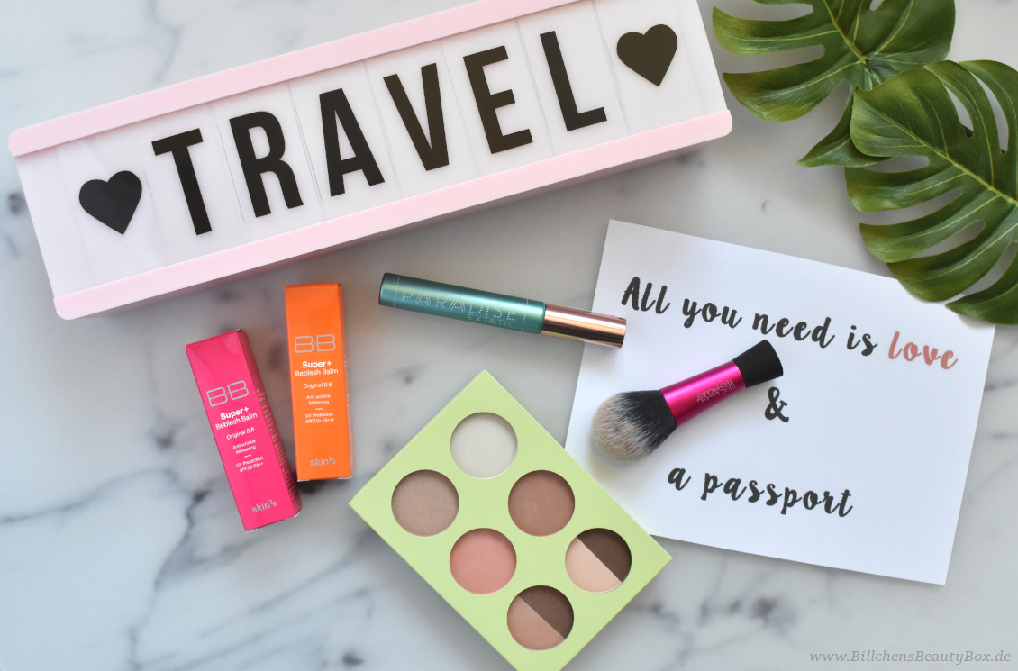 Reise Essentials & Must Haves - Dekorative Kosmetik von PIXI, L'Oréal, Catrice und Real Techniques