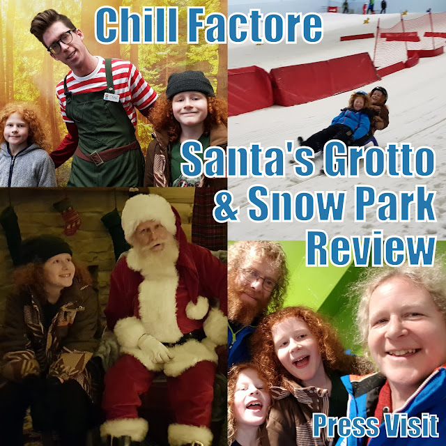 Chill Factore Christmas Santa's Grotto and Snow Park Review