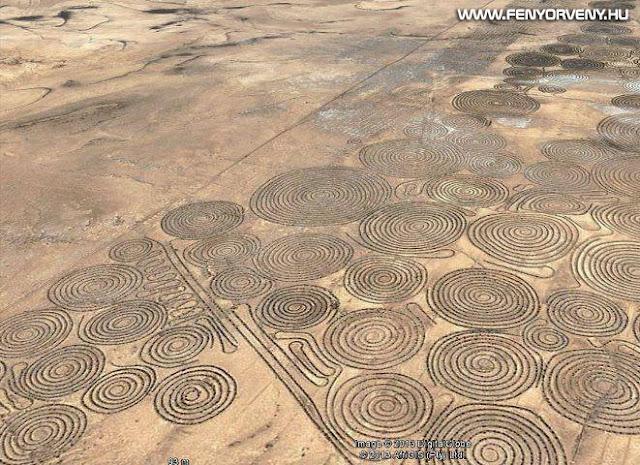 Rejtélyes körök a Kalahari sivatagban