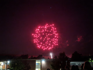 Franklin fireworks in 2018