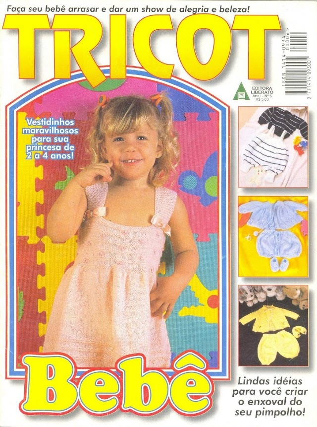 Tricot Bebê Nº 5-Revista