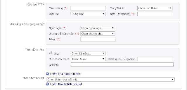 Hướng Dẫn Nộp Hồ Sơ Online BIDV