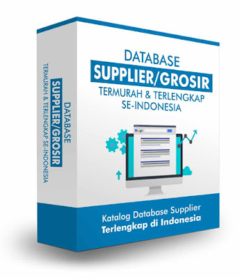 Jual Database Supplier Indonesia Terlengkap Murah